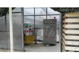 Electromagnetic boilers for heating greenhouses